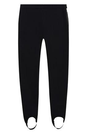 Детские хлопковые брюки LORO PIANA темно-синего цвета, арт. FAL3724 | Фото 1 (Материал внешний: Хлопок; Девочки Кросс-КТ: Брюки-одежда)