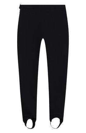 Детские хлопковые брюки LORO PIANA темно-синего цвета, арт. FAL3724 | Фото 2 (Материал внешний: Хлопок; Девочки Кросс-КТ: Брюки-одежда)