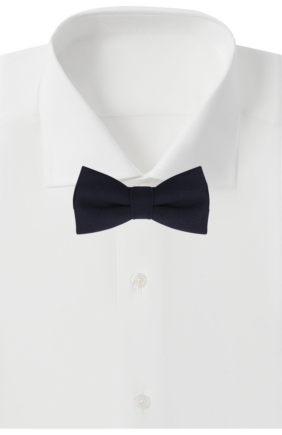 Детский галстук-бабочка PAOLO PECORA MILANO темно-синего цвета, арт. PP2537 | Фото 2