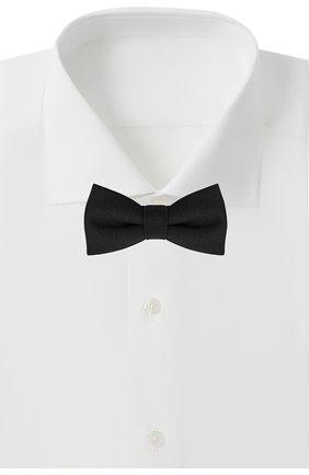 Детский галстук-бабочка PAOLO PECORA MILANO черного цвета, арт. PP2537 | Фото 2