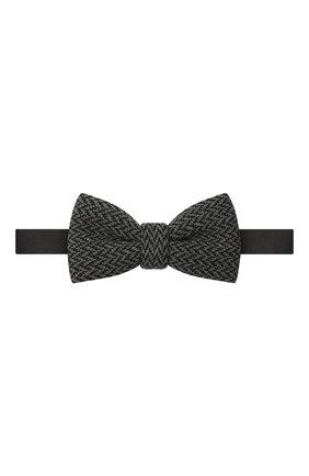 Детский галстук-бабочка PAOLO PECORA MILANO темно-серого цвета, арт. PP2536 | Фото 1