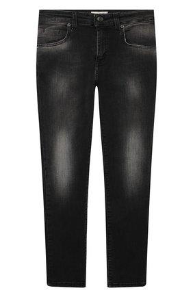 Детские джинсы PAOLO PECORA MILANO черного цвета, арт. PP2488/8A-12A   Фото 1