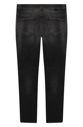 Детские джинсы PAOLO PECORA MILANO черного цвета, арт. PP2488/8A-12A   Фото 2