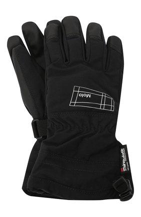 Детские перчатки mackenzie pro MOLO черного цвета, арт. 7NOSS205 | Фото 1