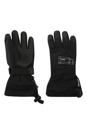 Детские перчатки mackenzie pro MOLO черного цвета, арт. 7NOSS205 | Фото 2