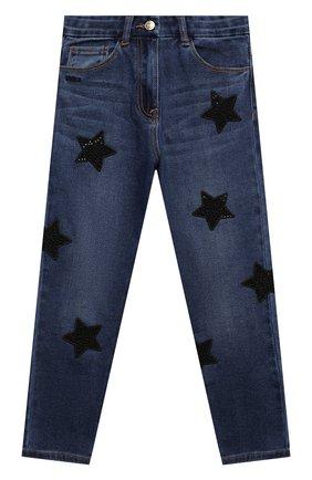 Детские брюки JAKIOO синего цвета, арт. 496400AD | Фото 1