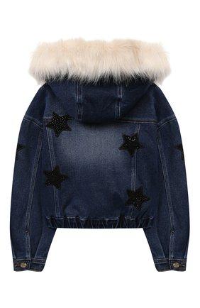 Детская джинсовая куртка JAKIOO синего цвета, арт. 496101AD | Фото 2