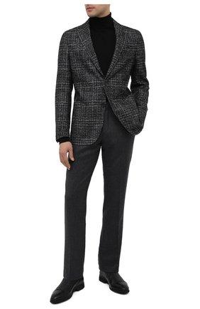 Мужские кожаные лоферы ALDO BRUE черного цвета, арт. AB8619K-NCM.A.A99T | Фото 2