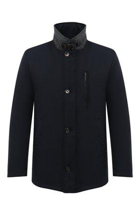 Мужская утепленная куртка GIMO'S темно-синего цвета, арт. 20AI.U.260.345 | Фото 1
