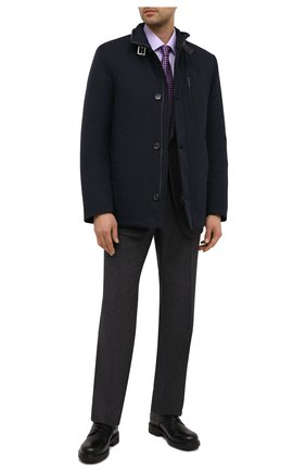Мужская утепленная куртка GIMO'S темно-синего цвета, арт. 20AI.U.260.345   Фото 2