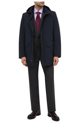 Мужская утепленная куртка GIMO'S темно-синего цвета, арт. 20AI.U.340.730 | Фото 2