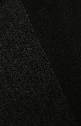Мужской кашемировый шарф LANVIN черного цвета, арт. 5300/SCARF | Фото 2