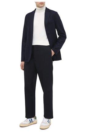 Мужской шерстяной пиджак HARRIS WHARF LONDON темно-синего цвета, арт. C8B22MLX | Фото 2