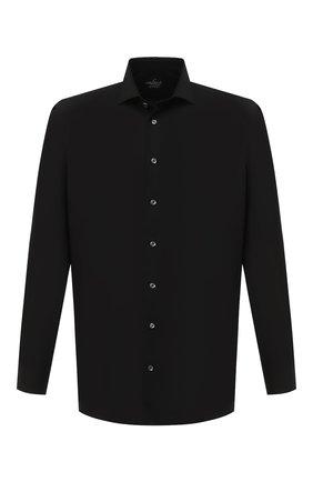 Мужская хлопковая сорочка VAN LAACK черного цвета, арт. RAND0-SF/160061   Фото 1