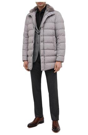 Мужская хлопковая сорочка VAN LAACK черного цвета, арт. RAND0-SF/160061   Фото 2