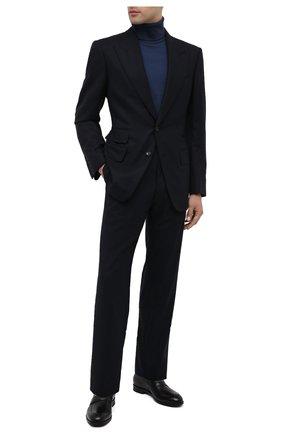 Мужские кожаные пенни-лоферы ERMENEGILDO ZEGNA черного цвета, арт. A4279X-LHNAX | Фото 2