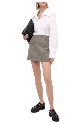 Женская кожаные дерби CASADEI бордового цвета, арт. 1C185R0401C10263805   Фото 2