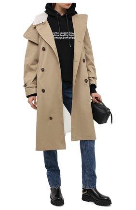 Женские кожаные ботинки CASADEI черного цвета, арт. 1R203R0401C10289000 | Фото 2