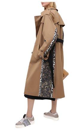 Женские кожаные кеды VIC MATIE светло-серого цвета, арт. 1Y5001D.Q36TYLTE05 | Фото 2