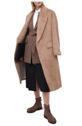 Женские кожаные ботинки MARSELL коричневого цвета, арт. MW3961/PELLE R0VESCI0 | Фото 2