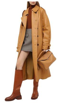 Женские кожаные сапоги MARSELL коричневого цвета, арт. MW6058/PELLE VITELL0 | Фото 2