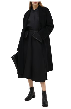 Женские кожаные ботинки MARSELL черного цвета, арт. MW6147/PELLE VITELL0 | Фото 2