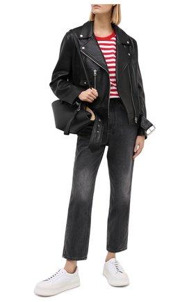 Женские джинсы KSUBI черного цвета, арт. 5000004220 | Фото 2