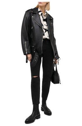 Женские джинсы KSUBI серого цвета, арт. 5000004865   Фото 2