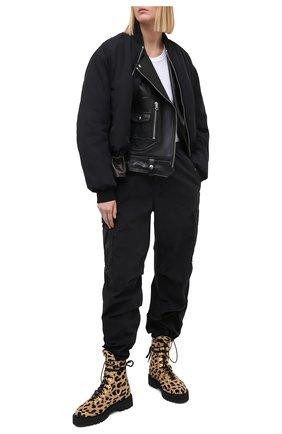 Женские джинсы KSUBI черного цвета, арт. 5000005089 | Фото 2