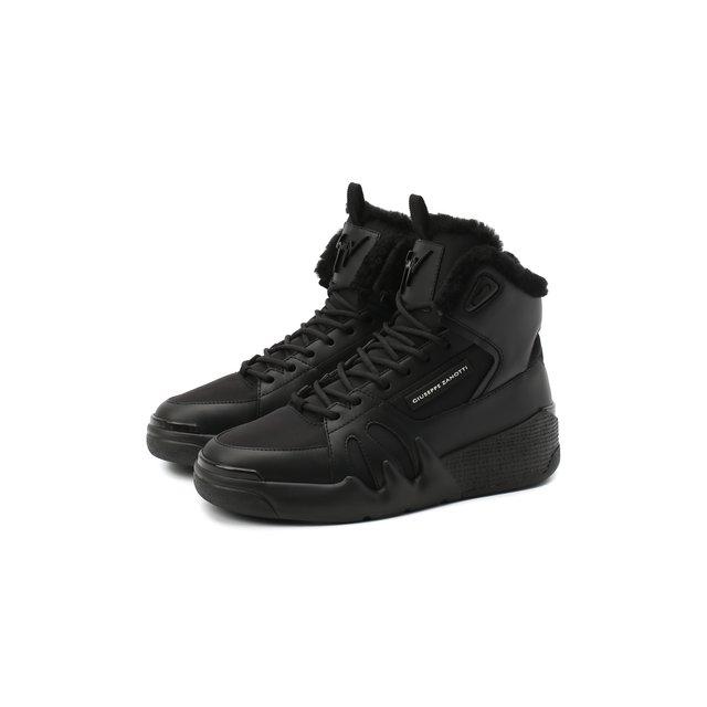 Комбинированные кроссовки Giuseppe Zanotti Design