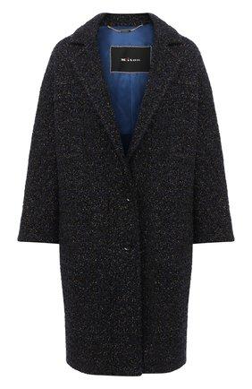 Женское пальто KITON темно-синего цвета, арт. D48608K05T15 | Фото 1