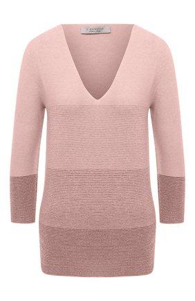 Женский пуловер D.EXTERIOR розового цвета, арт. 51011   Фото 1