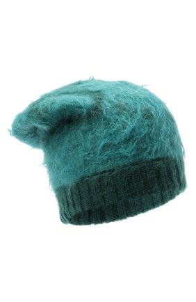 Женская шапка GUCCI зеленого цвета, арт. 638679/3GF96 | Фото 1
