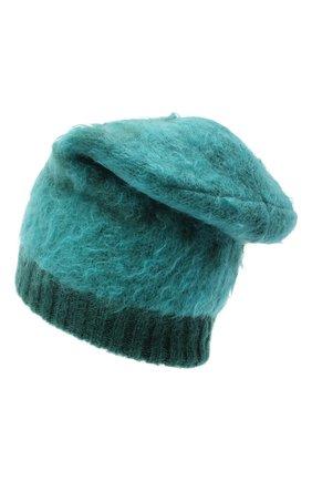 Женская шапка GUCCI зеленого цвета, арт. 638679/3GF96 | Фото 2