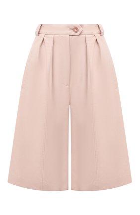 Женские шорты LESYANEBO розового цвета, арт. FW20/H-469/VL | Фото 1