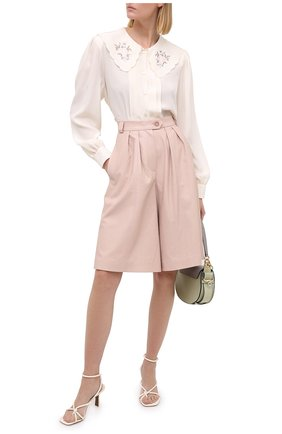 Женские шорты LESYANEBO розового цвета, арт. FW20/H-469/VL | Фото 2