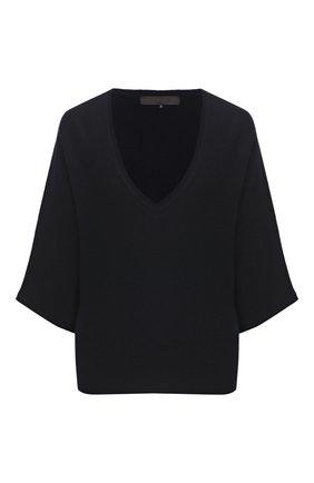 Женский шерстяной пуловер TEGIN темно-синего цвета, арт. CW1466 | Фото 1