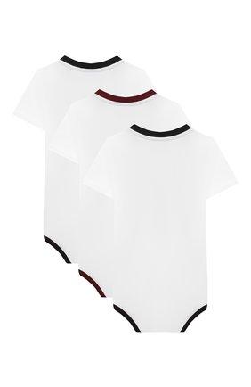 Детское комплект из трех боди DOLCE & GABBANA белого цвета, арт. L1J00Y/G7XP0 | Фото 2