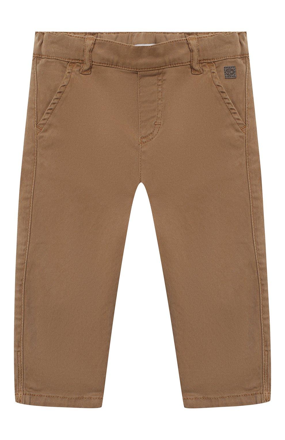 Детские брюки TARTINE ET CHOCOLAT бежевого цвета, арт. TR22101/1M-1A   Фото 1