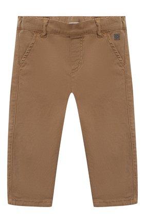 Детские брюки TARTINE ET CHOCOLAT бежевого цвета, арт. TR22101/1M-1A | Фото 1