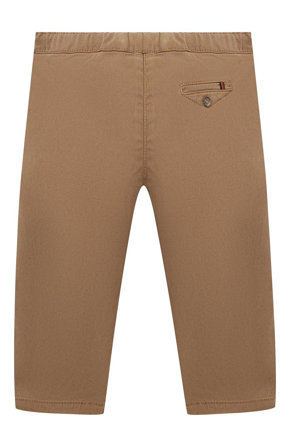Детские брюки TARTINE ET CHOCOLAT бежевого цвета, арт. TR22101/1M-1A   Фото 2