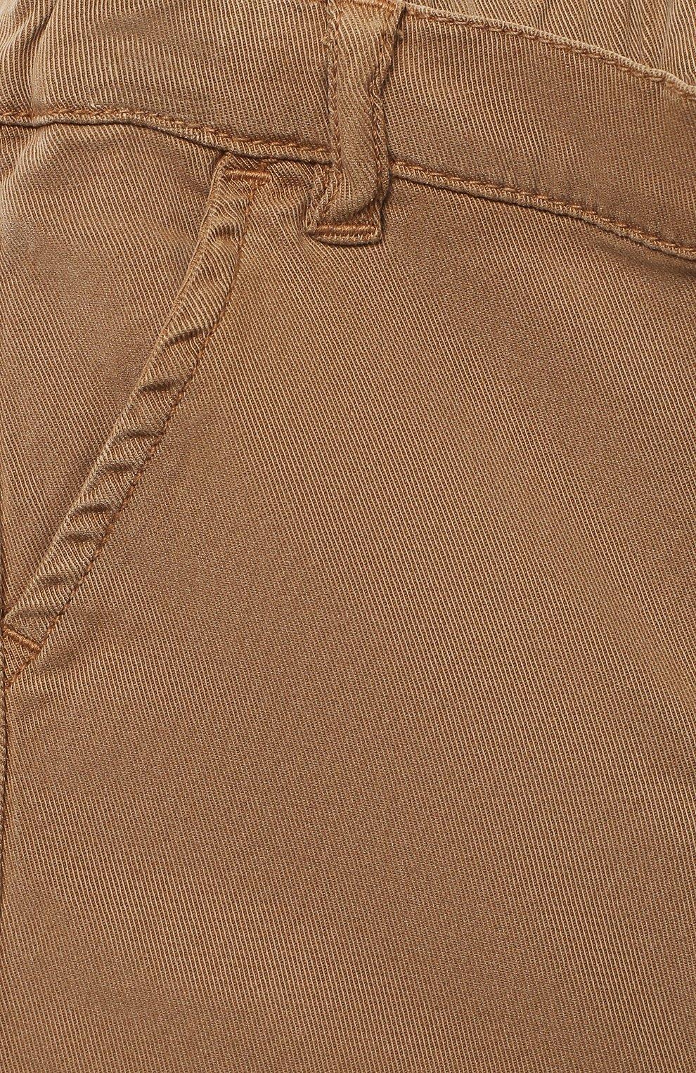 Детские брюки TARTINE ET CHOCOLAT бежевого цвета, арт. TR22101/1M-1A   Фото 3
