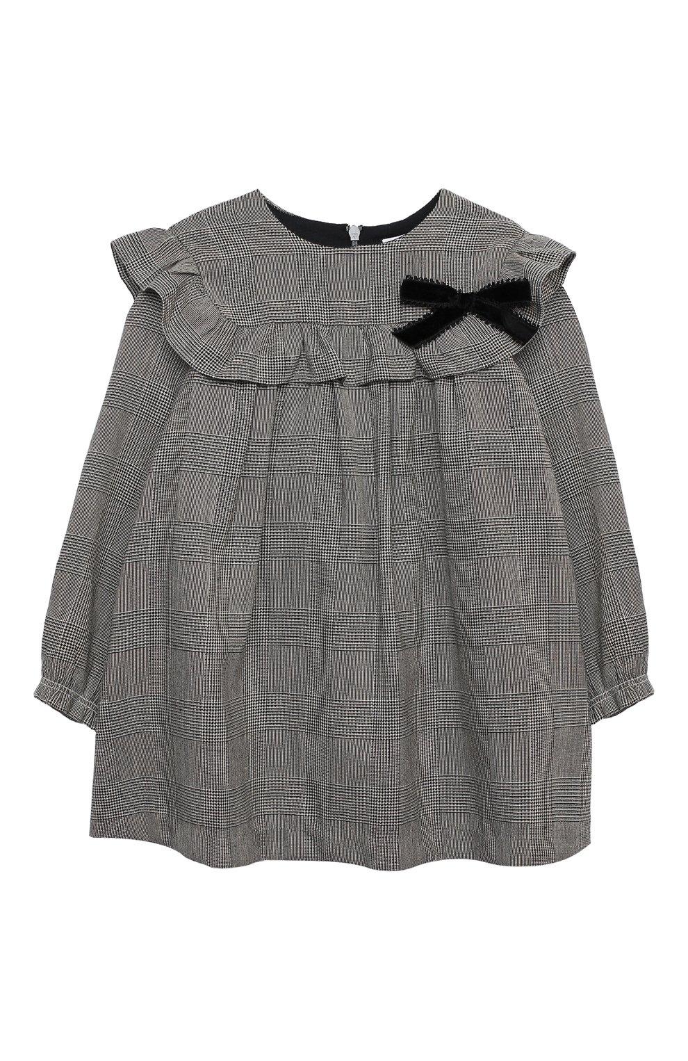Женский платье TARTINE ET CHOCOLAT серого цвета, арт. TR30031/18M-3A | Фото 1