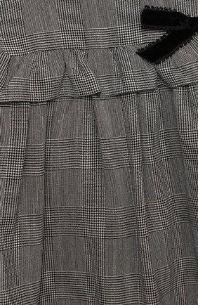 Женский платье TARTINE ET CHOCOLAT серого цвета, арт. TR30031/18M-3A | Фото 3