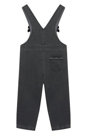 Детский джинсовый комбинезон TARTINE ET CHOCOLAT темно-серого цвета, арт. TR20021/18M-3A   Фото 2