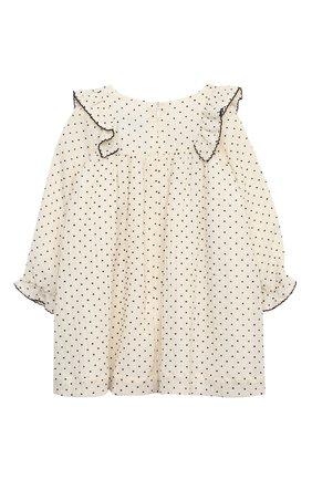 Женский хлопковое платье TARTINE ET CHOCOLAT бежевого цвета, арт. TR30131/1M-1A | Фото 2