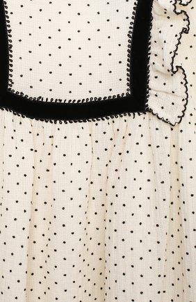 Женский хлопковое платье TARTINE ET CHOCOLAT бежевого цвета, арт. TR30131/18M-3A   Фото 3