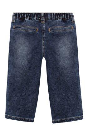 Детские джинсы MONNALISA синего цвета, арт. 396408RC | Фото 2
