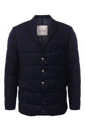 Мужская пуховая куртка fecamp MONCLER темно-синего цвета, арт. F2-091-1B590-00-54272 | Фото 1