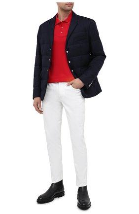 Мужская пуховая куртка fecamp MONCLER темно-синего цвета, арт. F2-091-1B590-00-54272 | Фото 2